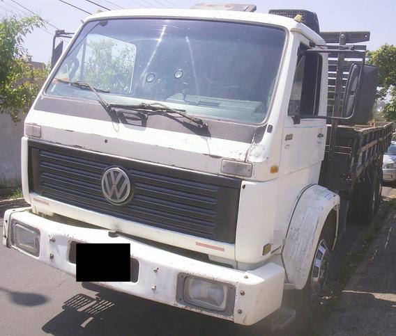 Vw 14-150 - 96/96 - Truck, Carroceria De Madeira Fraca