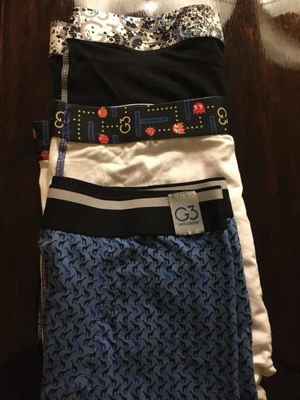 Bóxer G3 Underwear Pack X 6 Unidades Hombre Talle Xxl