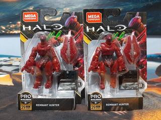 2 Remnant Hunter Halo Mega Construx Heroes Serie 11 Nuevos