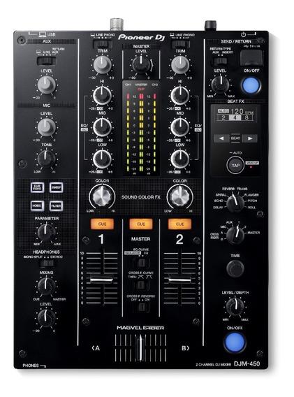 Mixer Pioneer Djm 450 + Xp1 Pioneer