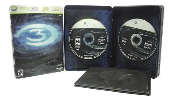 Halo 3 Edição De Colecionador Xbox 360 Mídia Física
