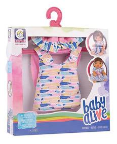 Roupinha Baby Alive - Hora Do Passeio - Cotiplás