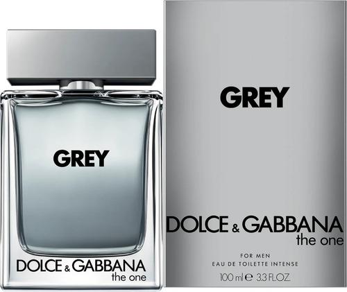 Imagen 1 de 4 de Perfume Dolce & Gabbana The One Grey Intense Edt 100ml