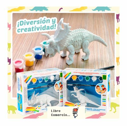 Dinosaurio Para Pintar Ultimas Unidades