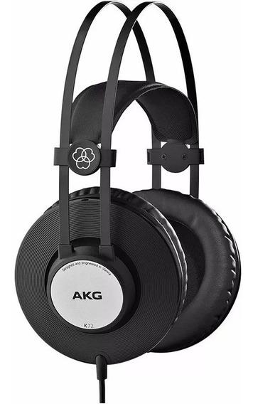Fone Ouvido Akg K72 K 72 Headphone Fechado Profissional