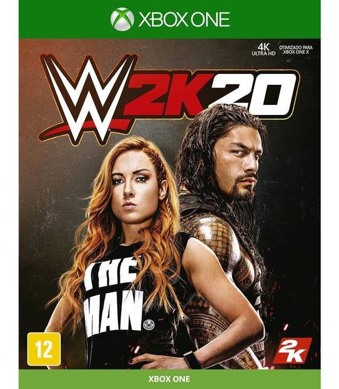 Wwe 2k20 Xbox One Mídia Física Lacrada 2k Game