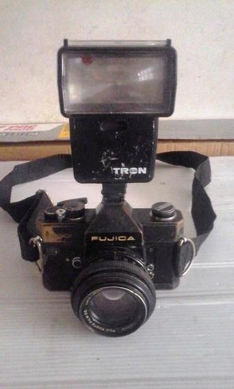 Câmera Fotográfica Fujica St 801 - 50mm - Japan
