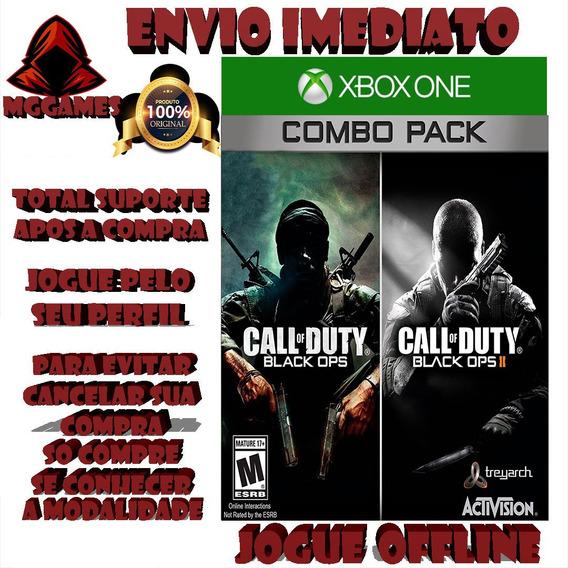 Call Of Duty Bo1 E Bo2 Jogos Xbox One Midia Digtal