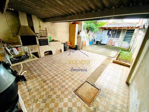 Casa Com 2 Dormitórios À Venda, 88 M² Por R$ 215.000,00 - Parque Novo Horizonte - São José Dos Campos/sp - Ca0516