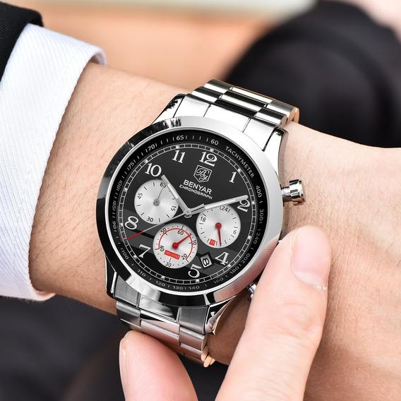 Relógio - Benyar - Multifução - Original - Hardlex - Estoque