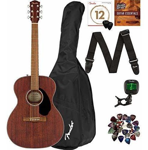 Guitarra Acustica Fender Cc-60s Solid Top Tamaño Concierto