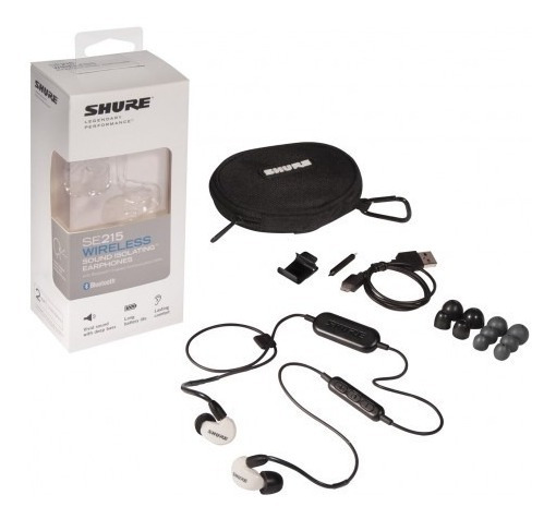 Shure Se215 Bt1 Wireless - Bluetooth