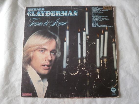 Lp Richard Clayderman Temas De Amor 1980, Disco De Vinil