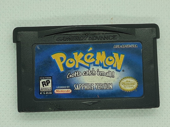 Pokemon Sapphire Version Game Boy Advance Gba