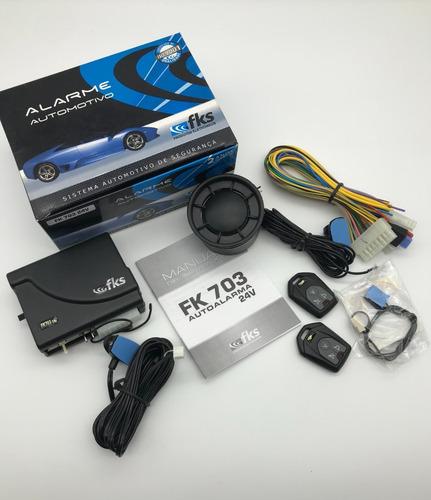 Alarma Para Camiones Sensores Volumétricos Fks Fk 703 24v