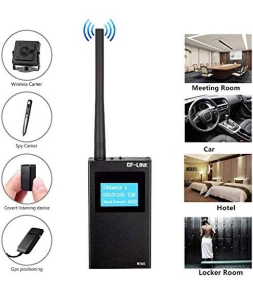 Detector De Frequencia - Rastreador - Camera Espia - Escuta