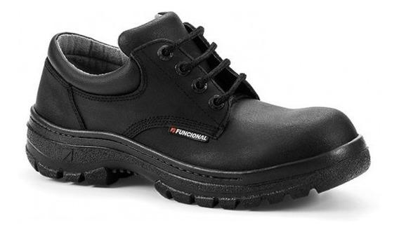 Zapato De Seguridad Funcional 33101 Puntera De Acero