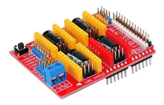 10 Unidades Arduino Shild V3 Cnc V3