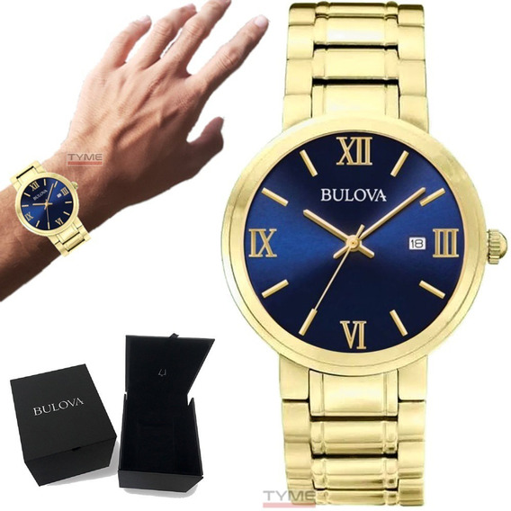 Relógio Bulova Masculino Classic Collection Wb26146z 97b159