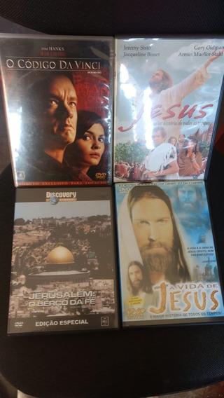 Dvd Original Codigo Da Vinci A Vida De Jesus Jerusalem