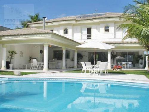 Casa Residencial À Venda, Acapulco, Guarujá. - Ca0427