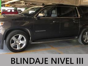 Chevrolet Suburban 5.3 Ltz V8 4wd 2da Cubo At Blindada