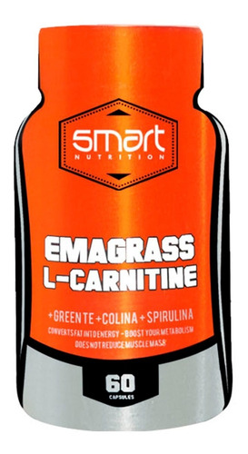 L Carnitine ( 120caps ) Emagrass Smart Nutrition Carnitina