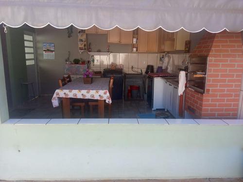 Casa Em Jardim Santa Cruz, Mogi Guaçu/sp De 135m² 3 Quartos À Venda Por R$ 245.000,00 - Ca785551