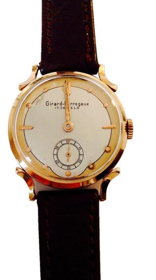 Reloj De Oro Sólido De 18k. Marca Girard Perregaux (ref 528)