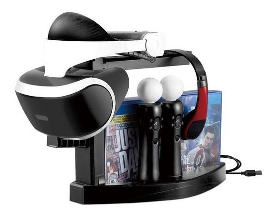 Dock Carregador Stand Para Acessórios De Playstation 4 Ps4