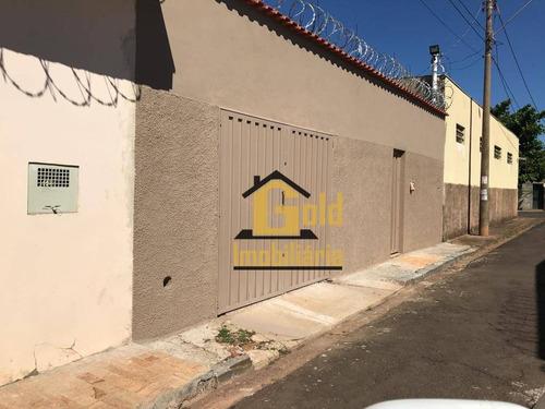 Casa Com 3 Dormitórios À Venda, 251 M² Por R$ 700.000 - Campos Elíseos - Ribeirão Preto/sp - Ca0733