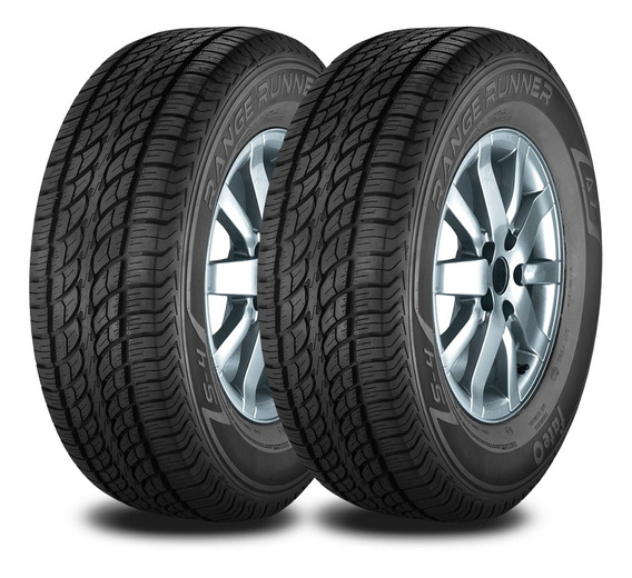 Kit 2 Neumaticos Fate Lt 225/75 R16 110r Rr At Serie 4