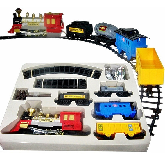 Locomotiva Ferrorama Expresso 2 Com Tunel - Braskit