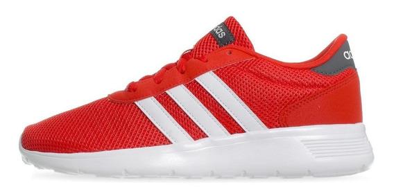 Tenis adidas Lite Racer - F34647 - Rojo - Hombre
