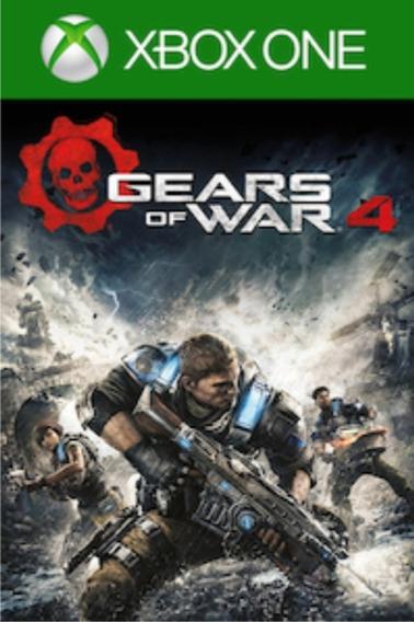 Gears Of War 4 Xbox One Midia Fisica Novo Lacrado