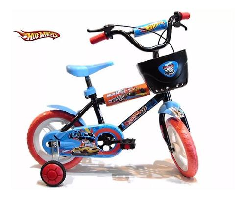 Bicicleta Unibike Art. 121230 Rod. 12 Hotwheels