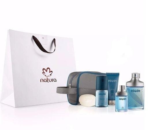 Kit Natura Kaiak Clássico Masculino   100% Original