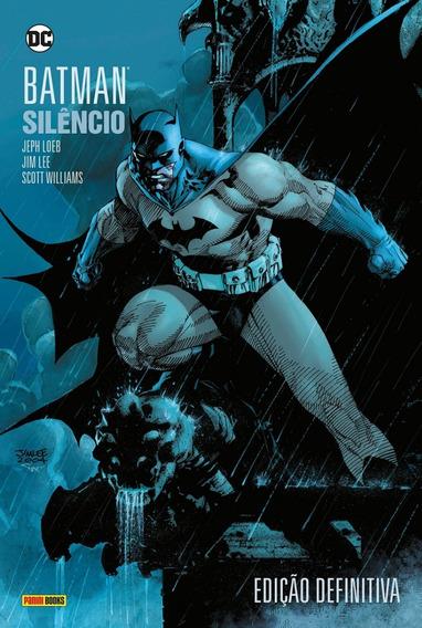 Hq Batman Silêncio Edição Definitiva Capa Dura-lacrado