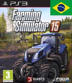 Farming Simulador 2015 15 Trator Ps3 Português Digital Psn