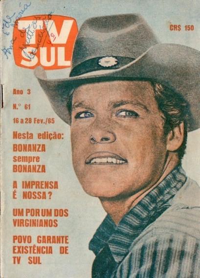 Tv Sul 1965 Doug Mcclure Carlos Zara Bonanza Ed Wilson Drury