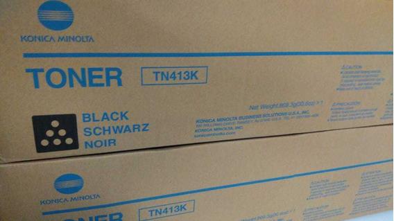Toner Black Tn-413k Original Konica Minolta C452/552/652