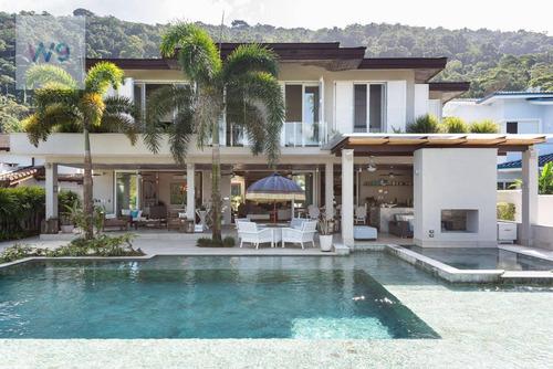 Casa De Luxo  6 Dormitórios (suítes) À Venda, 700 M² Por R$ 7.500.000 - Costa Verde Tabatinga - Caraguatatuba/sp - Ca0015