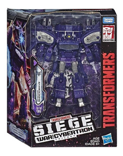 Transformers Siege Leader Wfc-s14 Shockwave