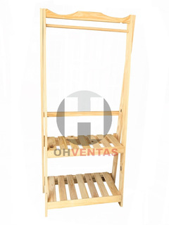 Perchero Vestidor ¡¡ Oferta !! Estante Barral Pino Plegable