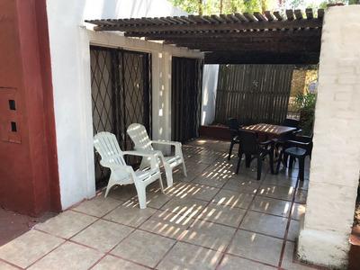 Casa 3 Dorm Aire Parrillero Estufa A Leña A 2 De Playa