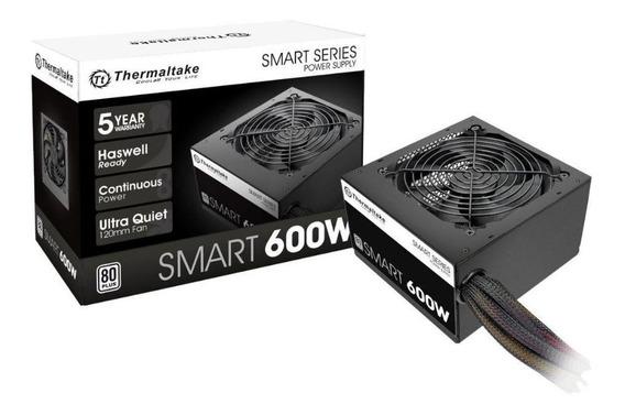 Fonte Thermaltake Atx 500w Real Smart 80+ White