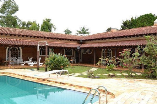 Chácara Com 7 Dormitórios À Venda, 56279 M² Por R$ 5.000.000,00 - Parque Primavera - Poços De Caldas/mg - Ch0058