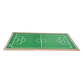 Campo Mesa De Futebol De Botao Em Mdf 90x60cm