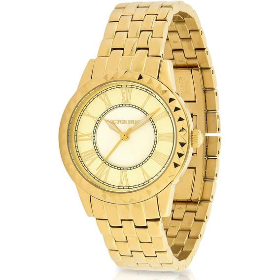 Relógio Victor Hugo Luxo Feminino - Vh10151lsg/65m