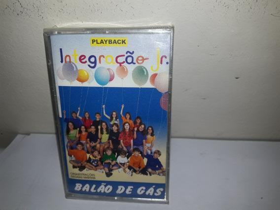 Fita K7 Grupo Integração Balão De Gaz Play Back Lacrada